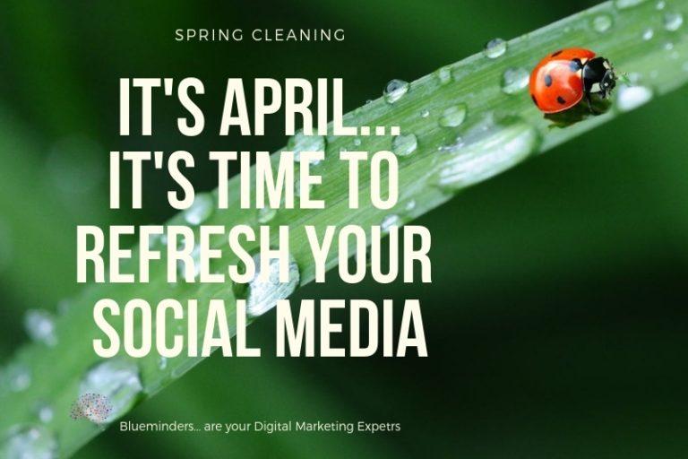 Ανανεώστε τις σελίδες των social media της επιχείρησή σας