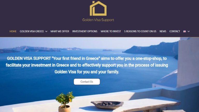 Κατασκευή ιστοσελίδας Golden Visa - πολυγλωσσικό wordpress